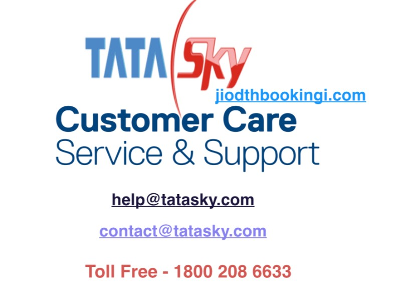 My Tata Sky Customer Care