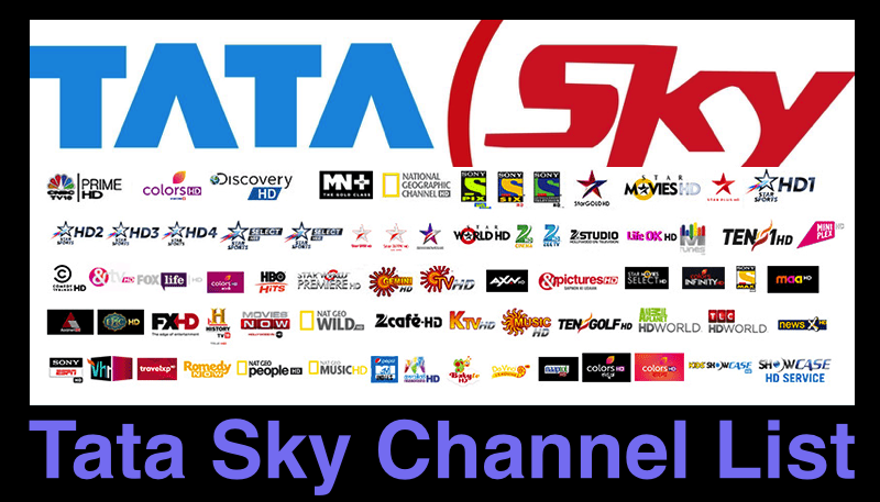 Tata Sky Channel List