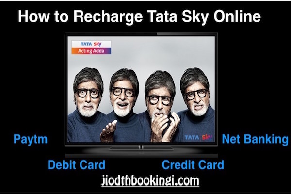 how to recharge tata sky by sbi net banking