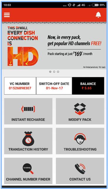 How To Check Dish TV Balance