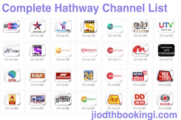 Jio Dth Channel List With Price Detail – Dibujos Para Colorear