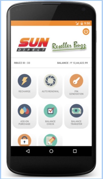 Sun Direct Reseller Buzz App