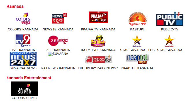 Upcoming Kannada Channel List