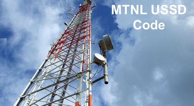 MTNL USSD Code