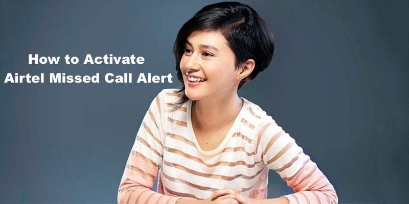 Airtel missed call alert