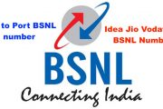 How to port BSNL number