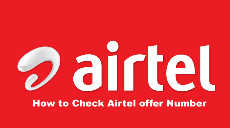 Airtel offer Check Number