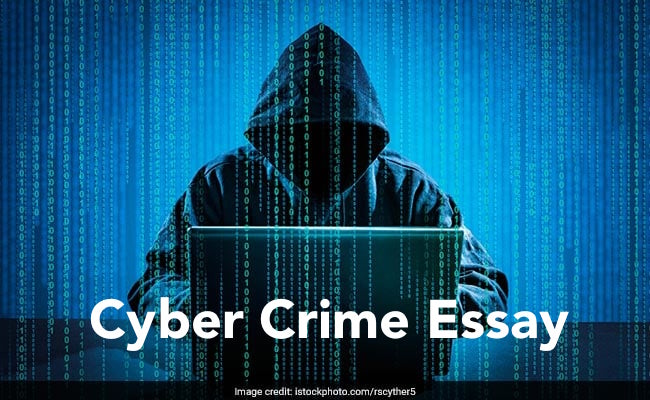 Cyber Crime Essay in English