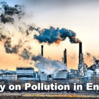 Essay on Pollution in English
