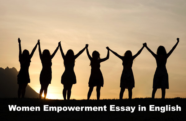 women empowerment essay in english for student  children