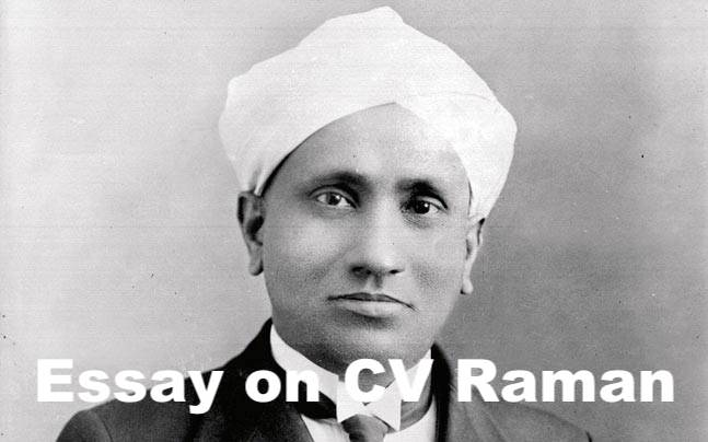 Essay On Cv Raman In English For Student Children