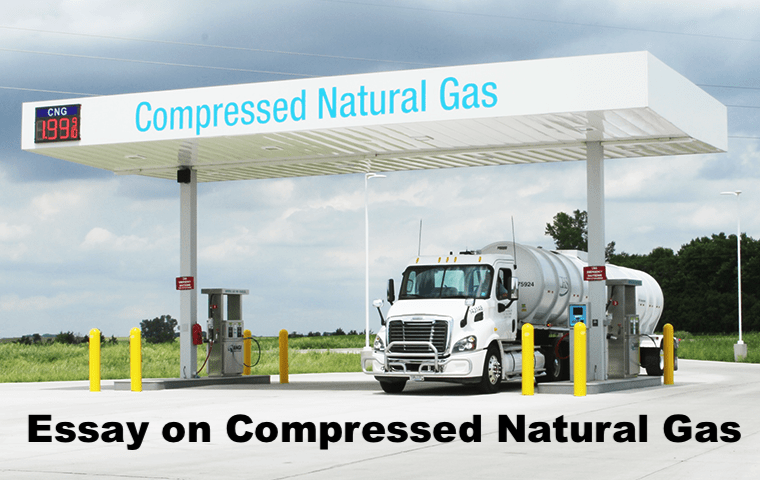 Essay on Compressed Natural Gas