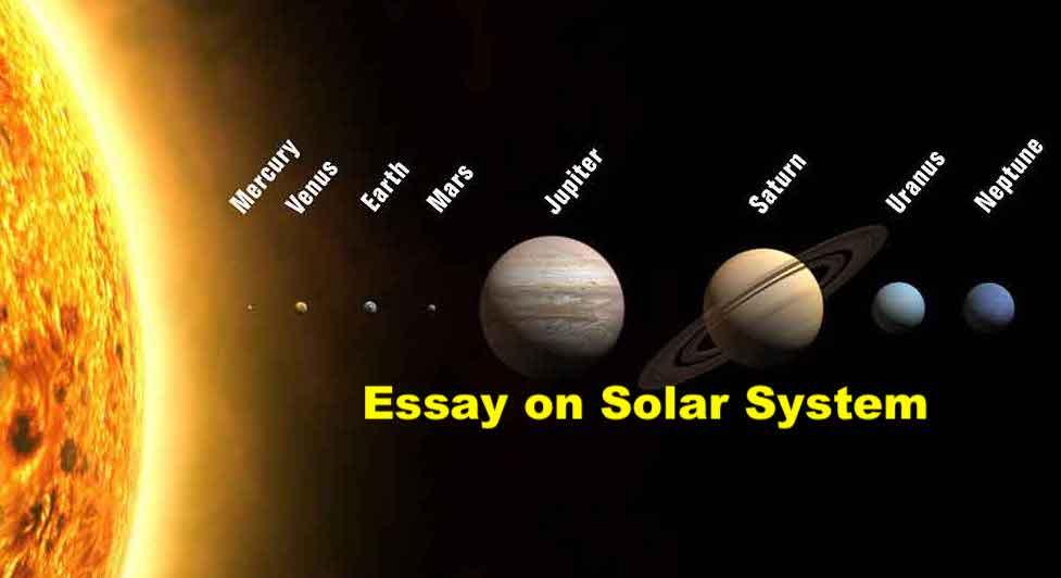 Essay on Solar System