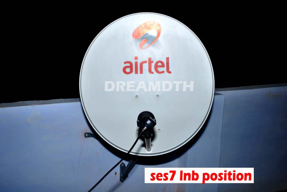 Airtel Digital TV Satellite Direction Antenna Setting Complete Guide