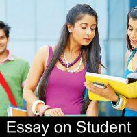 Essay on Student