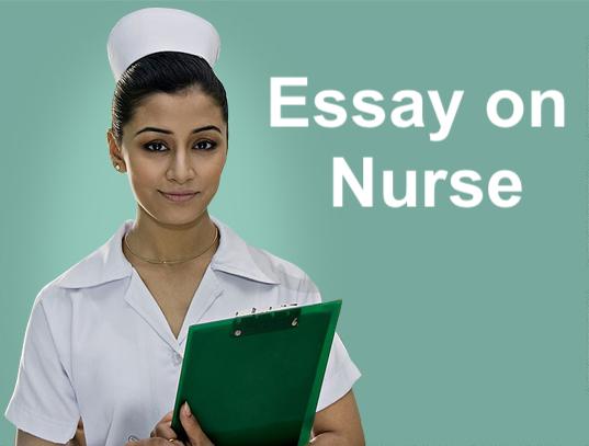 Essay on nurse in English