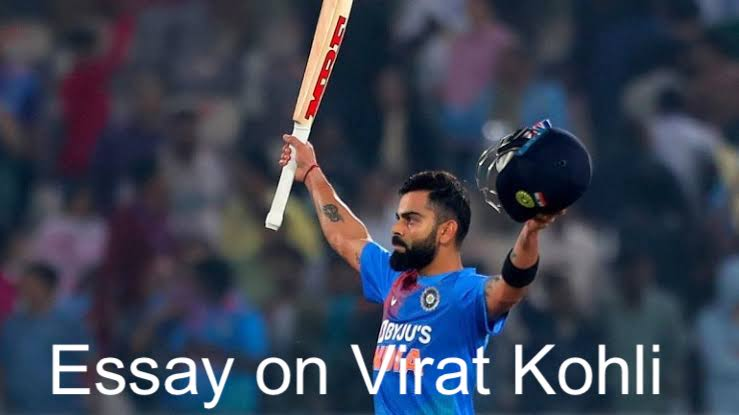 Essay on Virat Kohli in English