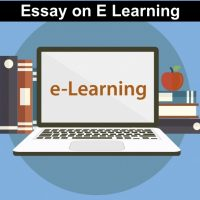essay on e learning