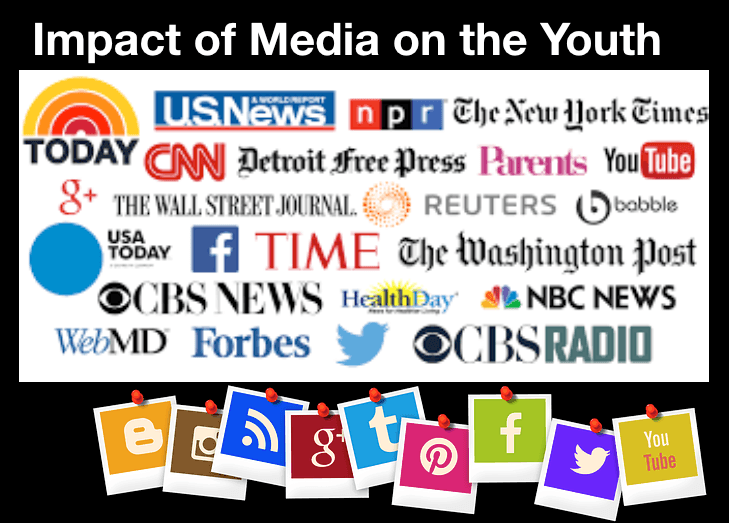Impact of media on the youth