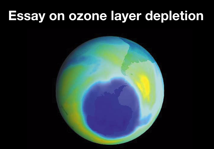 essay on ozone layer depletion
