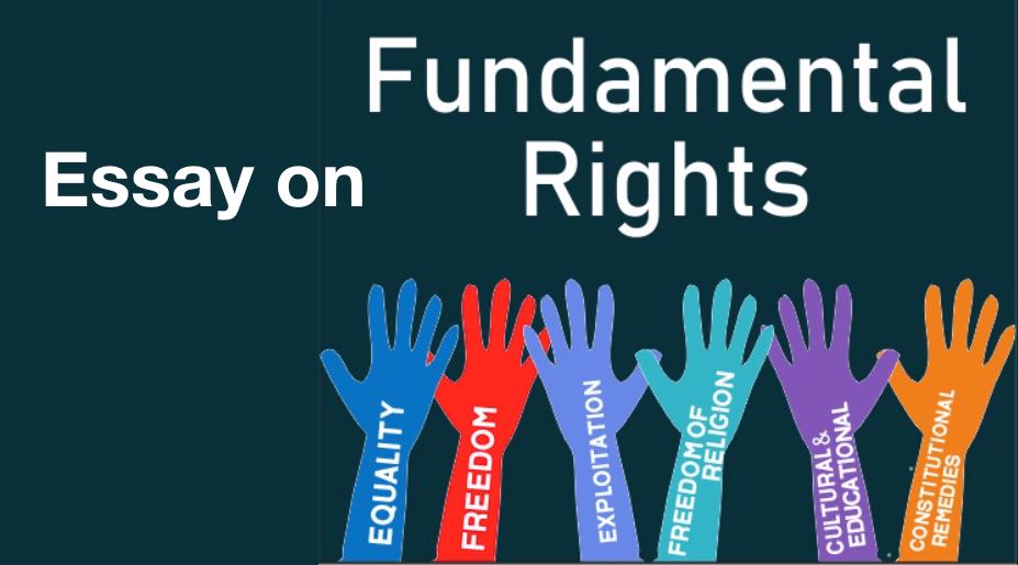 essay-Fundamental Rights