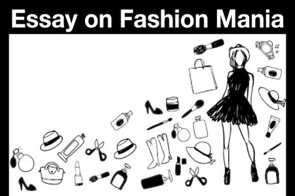 Essay on Fashion Mania
