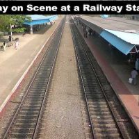 Essay on Scene at a Railway Station