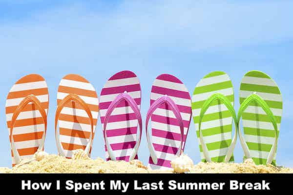 How I Spent My Last Summer Break
