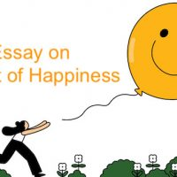 essay on secret of happiness